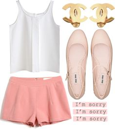 """I'm sorry"" by sweetnovember19 ❤ liked on Polyvore"