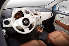 2014 Fiat 500 1957 Edition Dash. Stunning. See more at www.carsquare.com/ #italiancar #europeancar