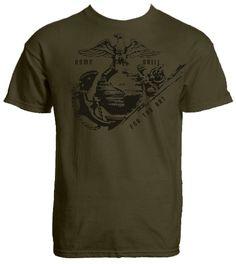 Vintage 80s t shirt rifle team range gun foard high school for Jrotc t shirt designs