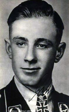 "Oberst Helmut Lent (13 June 1918 – 7 October 1944) was a German night-fighter ace in World War II. Lent shot down 110 aircraft, 103 of them at night, far more than the minimum of five enemy aircraft required for the title of ace"".Born into a devoutly religious family, he showed an early passion for glider flying; against his fathers wishes, he joined the Luftwaffe in 1936."