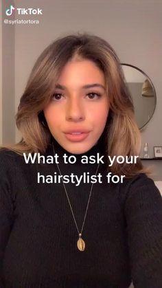 Cut My Hair, New Hair, Medium Hair Styles, Curly Hair Styles, Aesthetic Hair, Light Brown Hair, Hair Videos, Hair Cutting Videos, Hair Highlights