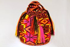 Beautiful one of a kind handbags!! Made with love for love! Nativo Style Mochila Bag get your @ www.nativostyle.com