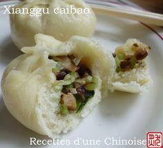Baozi au pak choï et shiitaké - Recettes d'une Chinoise - Vegan recipe