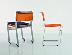 Enzo Mari | Chairs Delfina (1979) - Winner of the Compasso d'Oro award 1979