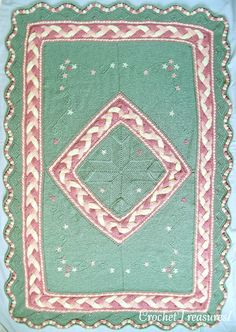 Orchard Song Throw / new / handmade / afghan by CrochetTreasures1