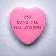 This is our kind of Valentine's gift! Of course it's now 258 days til Halloween (but who's counting. Halloween Rules, Days Until Halloween, Halloween Countdown, Holidays Halloween, Happy Halloween, My Funny Valentine, Hate Valentines Day, Valentine Gifts, Happy February