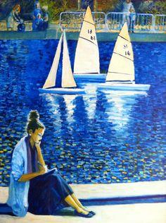 Sacré Bleu Model Boat Pond