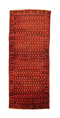 TRADITIONAL PERSIAN HAMADAN RUG 104 cm x 255 cm