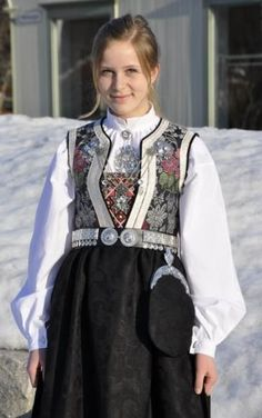 Folk Costume, Costumes, Norwegian Clothing, Going Out Of Business, Traditional Dresses, Old And New, Norway, Scandinavian, Culture