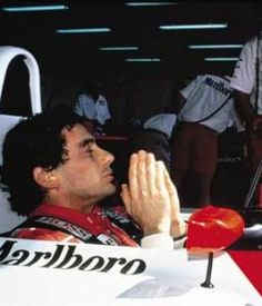 Ayrton Senna , praying, but where was god......