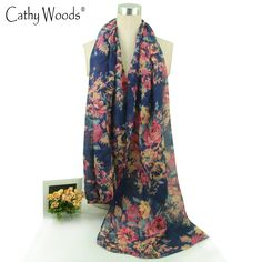 2017 Fashion Scarf for Women Long Echarpe Floral Printed Scarves Viscose Scarf Ladies Beach Shawl Warm Shawls Hijab for Women