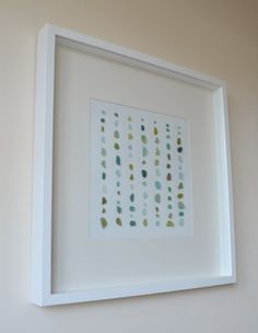 sea glass artwork diy!