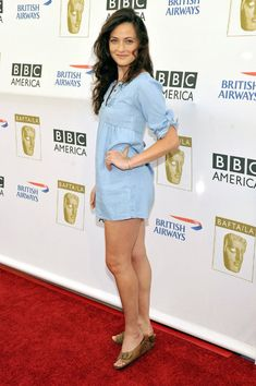 Pulver joined the cast of the third series of HBO's True Blood as Sookie Stackhouse's fairy godmother, Claudine Crane. British America, Bbc America, Lara Pulver, British Airways, Fairy Godmother, Celebrity Feet, Beautiful Women, Celebs, Actresses