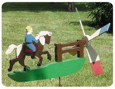 Galloping Horse Whirligig Plans