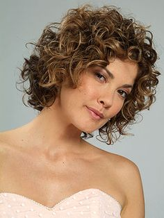Curly Bob. Mine will curl, but I can't make it look like this.