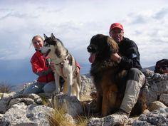 Bruno, Khumbu, Richard and Kiersten