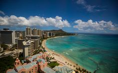 Hawaii has too many incredible beaches to visit in one lifetime, so let us be your guide - here's one: Waikiki Beach, Oahu
