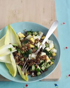 via BKLYN contessa : from martha stewart : lentil salad