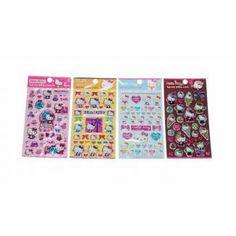 Hello Kitty sticker set (model 6) - Kawaii Stickers - Stationery | Blippo.com - Japan & Kawaii Shop
