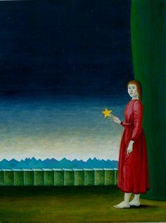 The star's princess (tempera)