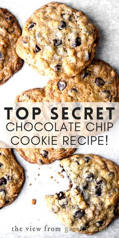 DoubleTree Chocolate Chip Cookie Recipe ~ Hilton has released the secret recipe for their famous chocolate chip cookies and they're fabulous!! #cookies #chocolatechip #chocolatechipcookies #doubltreecookies #hiltonhotel #recipe #secretrecipe Delicious Cookie Recipes, Best Dessert Recipes, Cookie Flavors, Easy Desserts, Yummy Cookies, Sweet Desserts, Doubletree Chocolate Chip Cookie Recipe, Secret Chocolate Chip Cookie Recipe, Chocolate Chip Cookie Dough