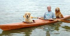 Man Built Custom Kayak So He Could Take His Dogs On Adventures Love My Dog, Zoo Animals, Funny Animals, Cute Animals, Mans Best Friend, Best Friends, Loyal Friends, Dog Training Classes, Two Dogs