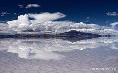 Солончак Уюни - самое большое природное зеркало