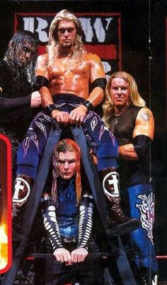 Edge, Christian and the Hardy Boys - Jeff  Matt... Masters of TLC matches
