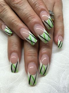 Being taught by this lovely lady Gel nails with hand drawn design using gel By Melissa Fox