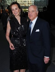 Marie-Josee and Henry Kravis at the Robin Hood Gala Which Raised 80M