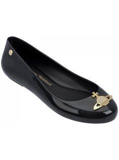 VW Space Love Black Gloss   Vivienne Westwood + Melissa Shoes   NONNON.co.uk