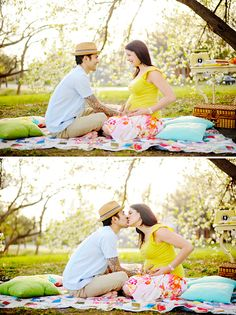 This is a cute maternity shoot or it could be just a cute couple shoot.