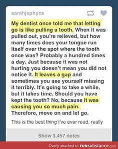 Deep dentist words