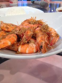 Buttered Shrimp Recipe by Virgie Cantiveros Buttered Shrimp Recipe, Butter Shrimp, Shrimp Recipes, Filipino Dishes, Filipino Food, Filipino Recipes, Main Dishes, Side Dishes, Philippine Cuisine
