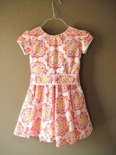Amanda Dress ($8.50 pattern, sizes 1-10)