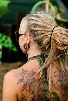 I want dreads, but I know I'd miss running my fingers through my hair. :(