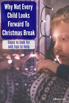 5 common reasons some kids dread Christmas break and how you can help them.