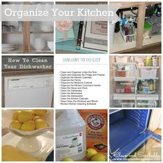 Clean & Scentsible: Organization LINK PARTY!!  January projects - How to Organize Your Kitchen.