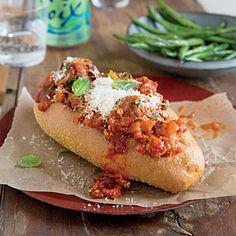 Turkey Meatball Subs Recipe | CookingLight.com #myplate, #protein