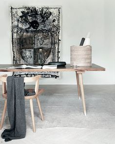 In love with the table and chair