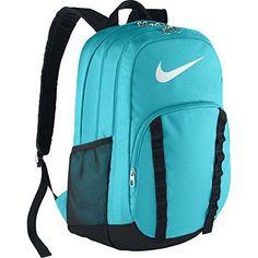 f9a07424c58a Amazon.com  Nike Brasilia 7 Backpack XL Omega Blue Black White Backpack  Bags  Sports   Outdoors