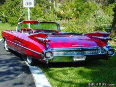 Image detail for -1959 Cadillac Eldorado Convertible . Rear View Photograph - 1959 ...