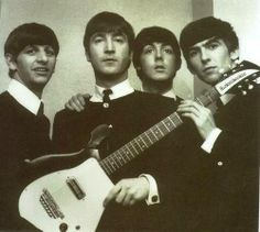 I was 15 years old when The Beatles came to the United States, and appeared on The Ed Sullivan Show.  I was in LOVE!  My friends and I started our own little fan club..lol.  Gail loved Ringo, Josie loved George, June loved Paul...and I, of course, loved John!  Their music, the movies, anything BEATLES!  It was a really fun time during my mid teens!
