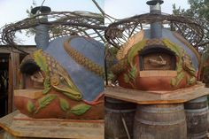 wood-fired pizza oven (The Owner-Builder Network)