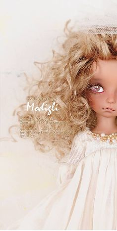 Limited Edition Modigli 3.0 http://dollsoom.com/eng/shop/intro_content.php… Neo-AngelRegion is preparing to sell two editions of iMda 3.0 Modigli. A basic version in normal, white or choco resin will be available until April 2nd. A special version will be a limited edition of only five dolls. That edition will include special eyes, face-up and outfit. Teasers are posted on the company's website. The dolls will be released on March 19th at 17:00 Korean time