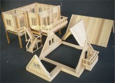 popsicle sticks house | Creations & Collections | Page 2