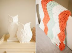 Pink and Peach Girls' Nursery by Design Loves Detail - Inspired By This