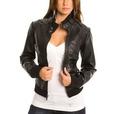 Example 3: Leather jackets became very popular in the greaser fashion of the 1950s that was influenced by James Dean. While this rebellious style mostly included teenage boys in the 1950s, leather jackets are now worn by both men and women. The style of the leather jacket has not changed much since the 1950s and it still resembles biker fashion.