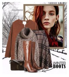 """Awesome Winter Boots"" by lenochca ❤ liked on Polyvore featuring MANGO, Yves Saint Laurent and Lipsy"