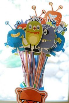 Monster Pixie Sticks by brittany